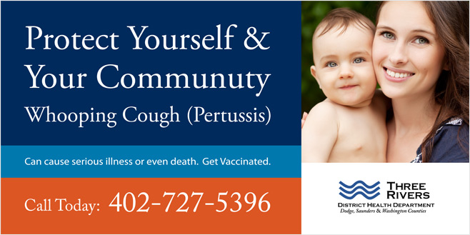 Three Rivers District Health: Billboard