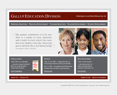 Gallup Education Division