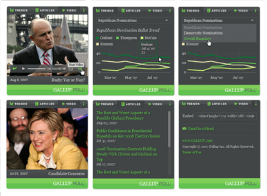 Gallup Widget